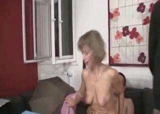 Awesome incest fuck with with a perverted daddy