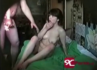 Real incest on hidden cam between dad and daughter