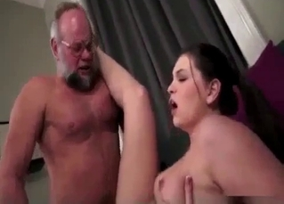 Stunning incest fuck with a daddy and his daughter
