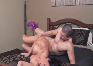 Hardcore incest with a big-breasted sister whore
