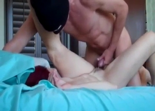 Redhead MILF enjoys incest sex in the missionary pose