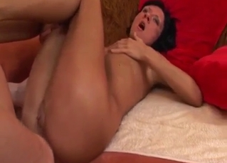 toned long-legged sister is trying incest sex