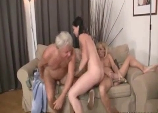 Stunning stepdaughter and horny uncle have incest