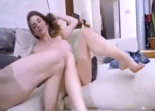 Hardcore anal action with a big-breasted stepsister